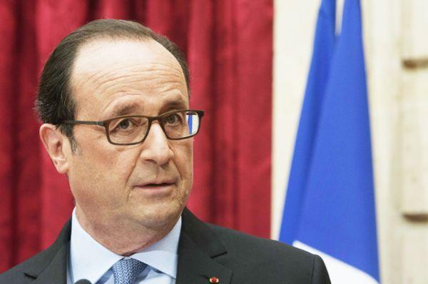 Франсуа Олланд — действующей президент страны.