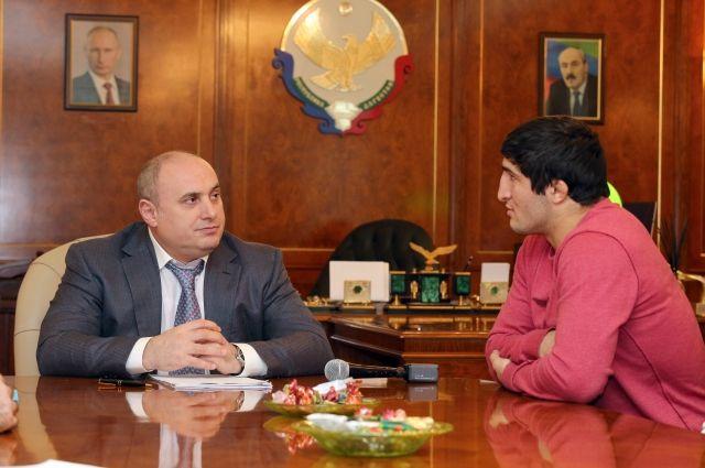 Абдулрашид Садулаев получил отвластей Махачкалы земельный участок