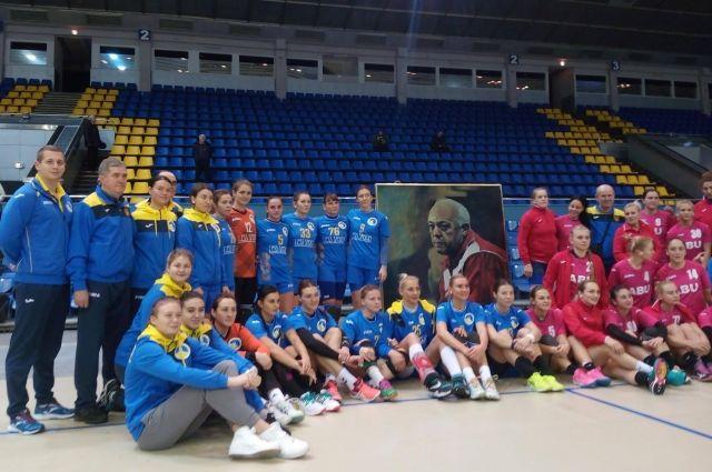 Украинская команда