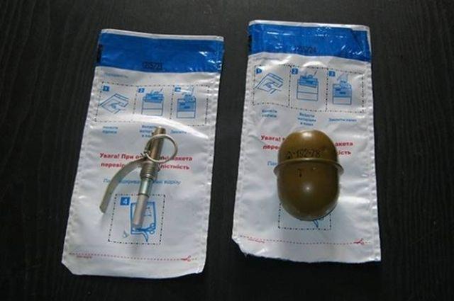 ВКиеве вмусорном баке отыскали гранату сзапалом