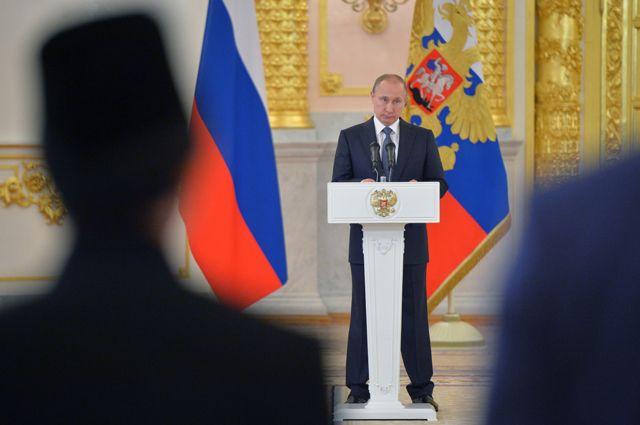 1декабря Путин обратится спосланием кФедеральному Собранию— Кремль