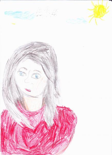 Участник №35.«Моя мамочка самая красивая, добрая, ласковая. Я ее очень люблю!»