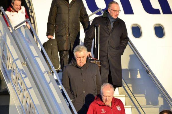 Главный тренер мюнхенского футбольного клуба «Бавария» Карло Анчелотти.