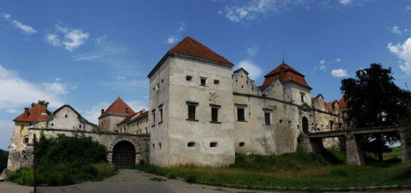 Свиржский замок во Львовской области