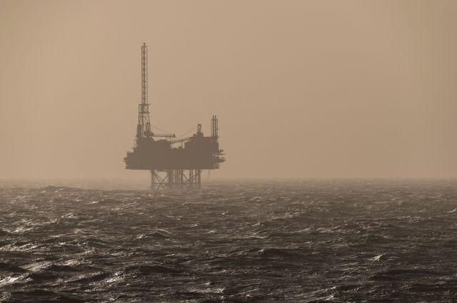 Набуровой платформе вНорвежском море произошёл пожар