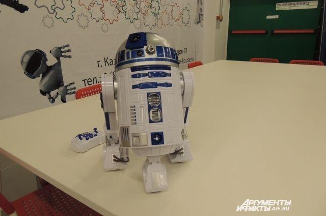 Омские школьники начинают путь в науку с конструирования роботов.