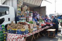 Ярмарка на главной площади Владивостока - хороший показатель урожая на полях края