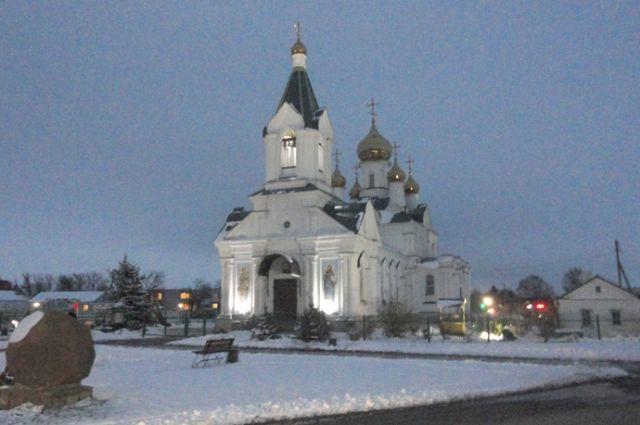 Спасо-Преображенская церковь была построена в 1871 году.