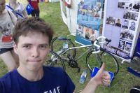 Пермяк разработал свою модель велосипеда, не обладая специальными навыками.