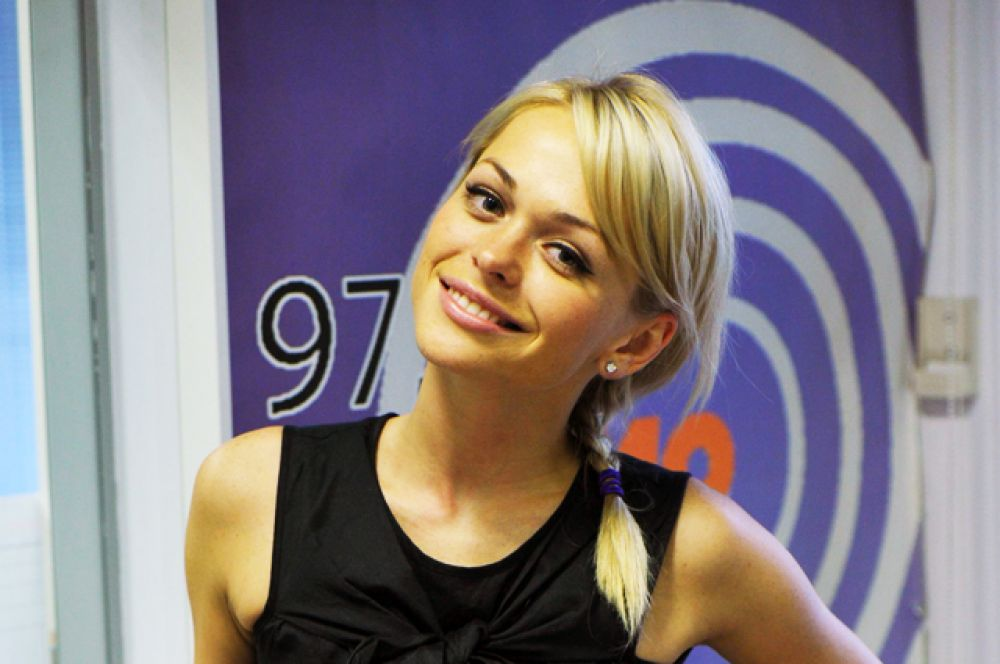4 место. Актриса Анна Хилькевич.
