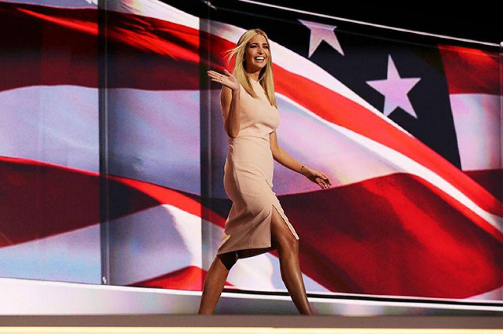 Дочь новоизбранного президента США Дональда Трампа имеет схожие вкусы в одежде с Меланией, первой леди американского государства