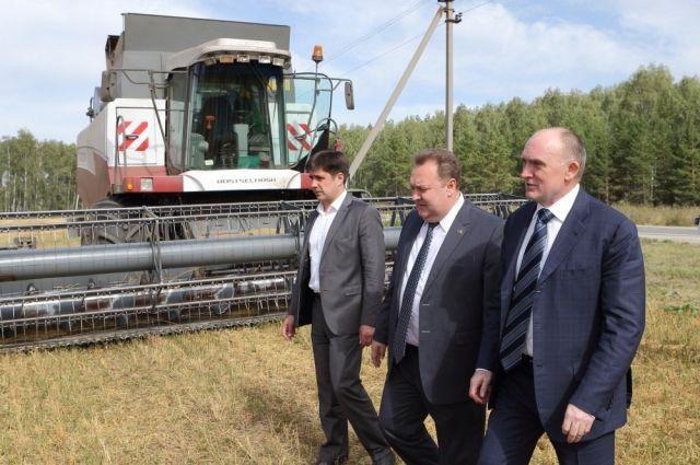Урожай зерна в этом году позволяет южноуральским аграриям увеличить экспортные поставки.