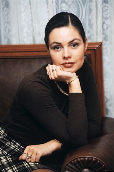 1998 года. Ведущая телекомпании ОРТ Екатерина Андреева.