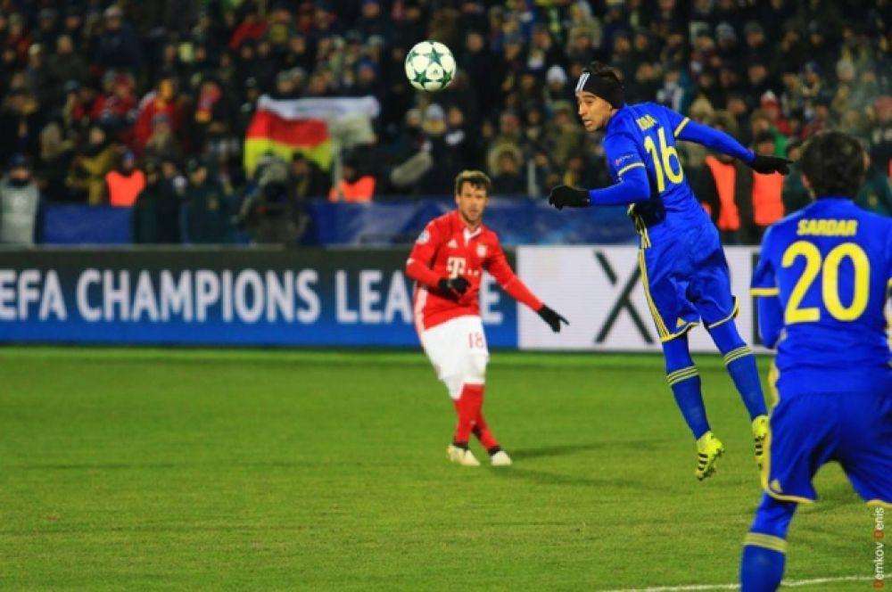 ФК «Ростов» блестяще провёл матч пятого тура группового этапа Лиги чемпионов между футбольными клубами «Ростов» и «Бавария» (Мюнхен).