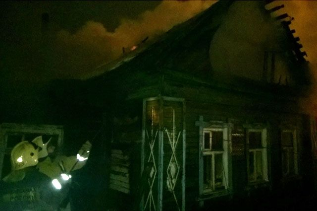 ВЗаволжском районе ночью горел личный дом