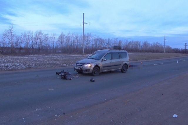 От полученных травм пешеход скончался на месте ДТП.