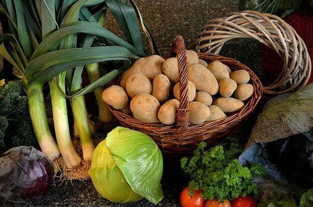 Падение цен на овощи спровоцировало снижение прожиточного минимума.