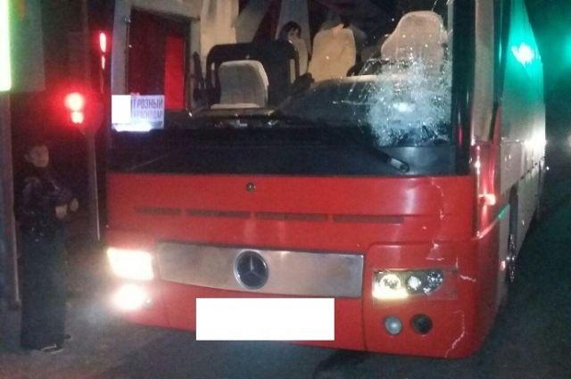 НаСтаврополье рейсовый автобус сбил человека