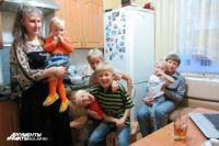 В 2012 году в семье было шестеро детей. В 2016 - уже восемь.