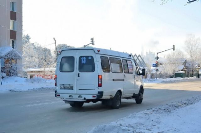 Люди ждут на морозе маршрутку по 30 - 40 минут.