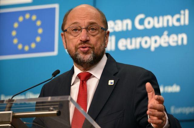 Мартин Шульц отказался переизбираться напост руководителя Европарламента