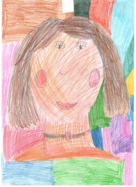 Участник №57.«Нет, красивей всех на свете, чем улыбка мамочки моей!»