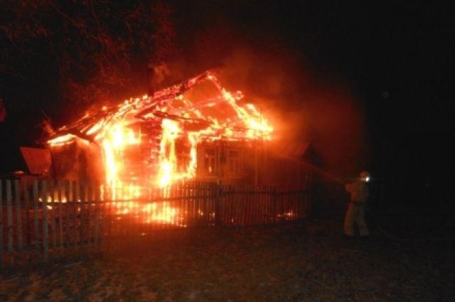 ВКанаше вдоме наколесах живьем сгорел мужчина
