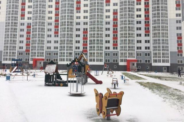 Основная масса жилья была построена в Барнауле.