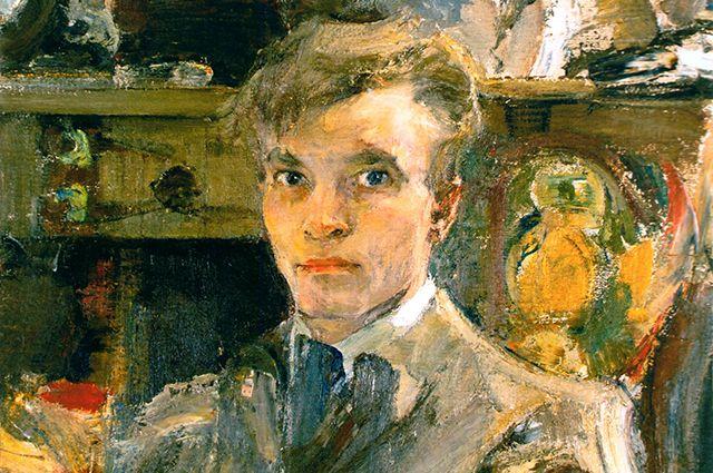 Николай Фешин. Автопортрет, написанный в 1920 году.