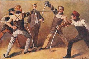 В конце XVIII — первой половине XIX века, когда в Европе «дуэльная лихорадка» уже практически прекратилась, в России число дуэлей, напротив, возрастало.