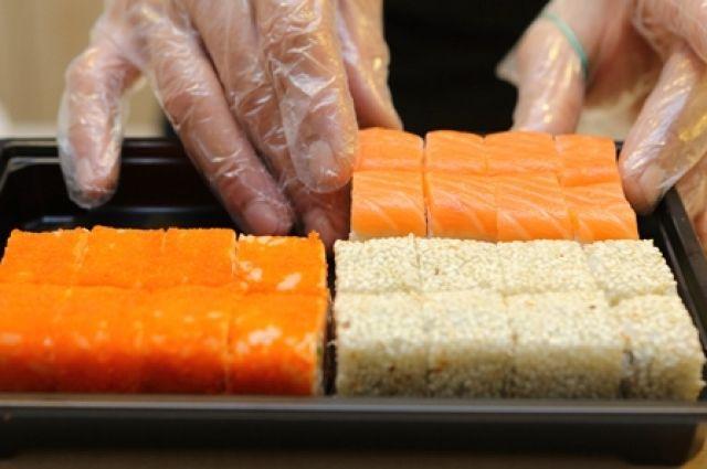 Вкрасноярских суши отыскали кишечную палочку истафилококк