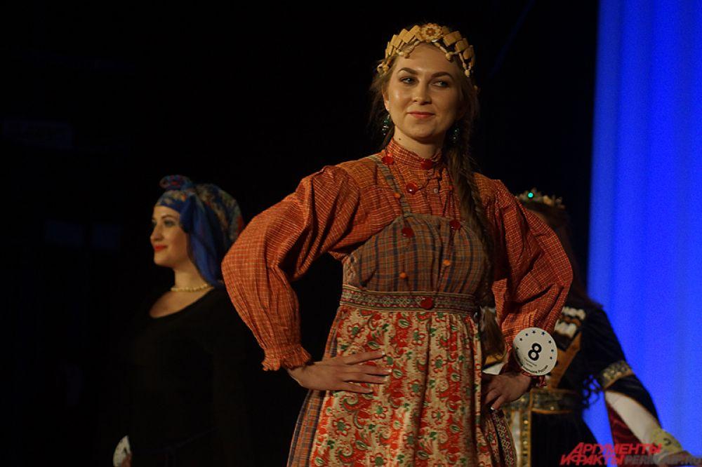 Конкурс красоты «Пермская краса» среди представительниц народов, проживающих в регионе, прошёл в краевой столице вечером в четверг, 24 ноября.