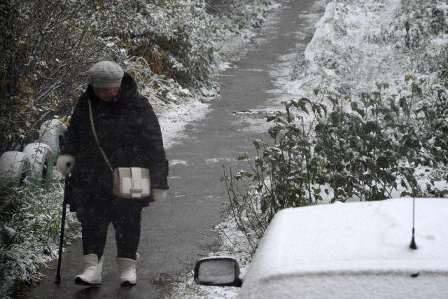 Мокрый снег игололед ожидаются вУдмуртии вконце рабочей недели