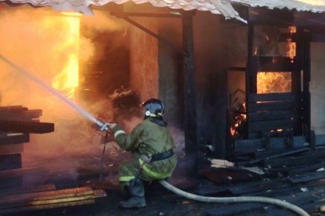 ВЕкатеринбурге сгорела очередная веранда вдетском саду