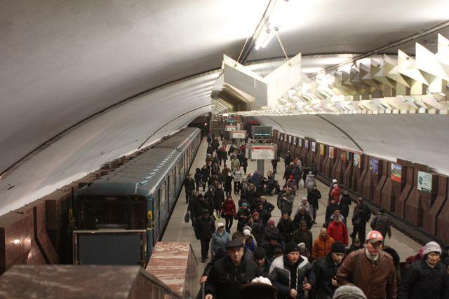 Происшествие в метро закончилось благополучно