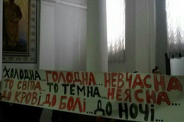 Вуниверситете имени Шевченко удовлетворили одно из основных требований недовольных студентов