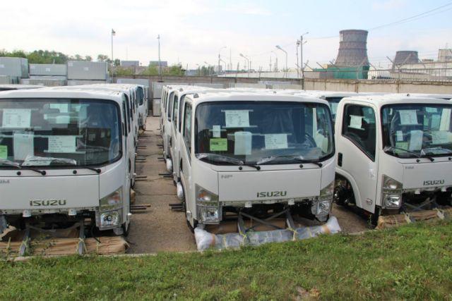 Тяжелые грузовые автомобили Isuzu будут производить в Российской Федерации