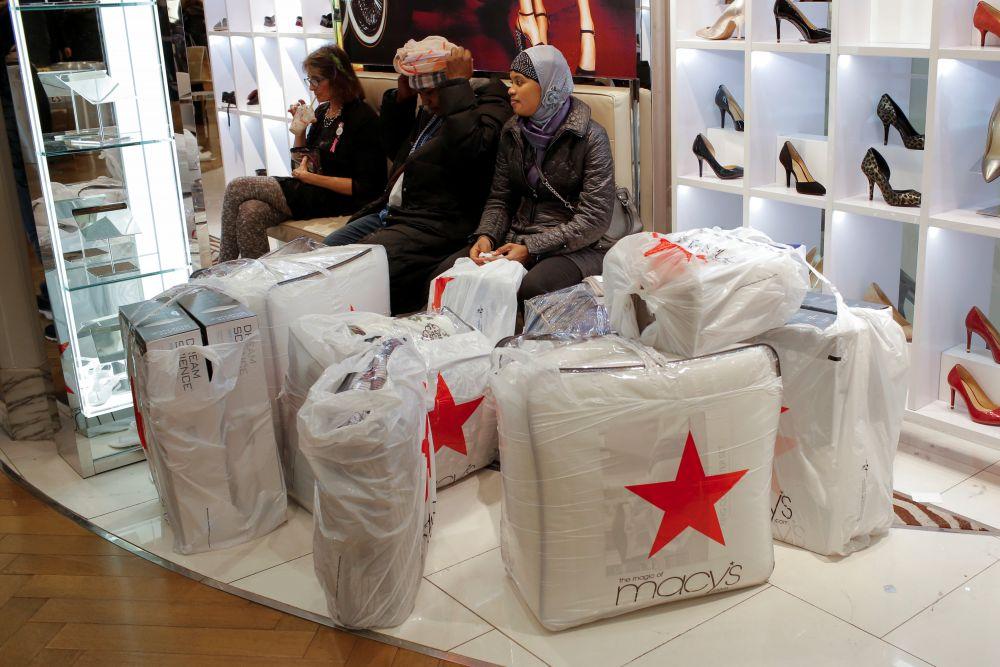 Одним из главных мест для любителей шопинга является центральный универмаг Macy's на Манхеттене в Нью-Йорке.