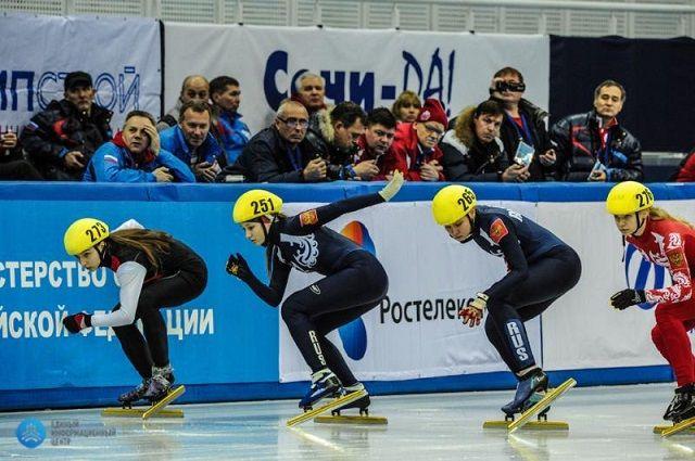 Пензенская спортсменка представит страну в соревнованиях по шорт-треку.