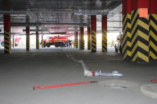 ВАрхангельске произошел пожар вСоломбальском машиностроительном заводе