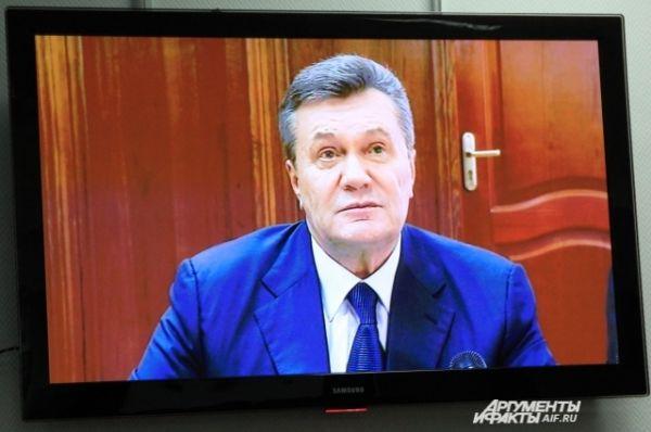 Виктор Янукович сделал заявление о том, что его допрос умышленно сорвали.