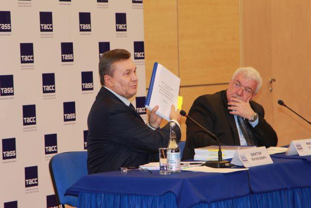 «Майдан» подтолкнул Крым котделению— Янукович