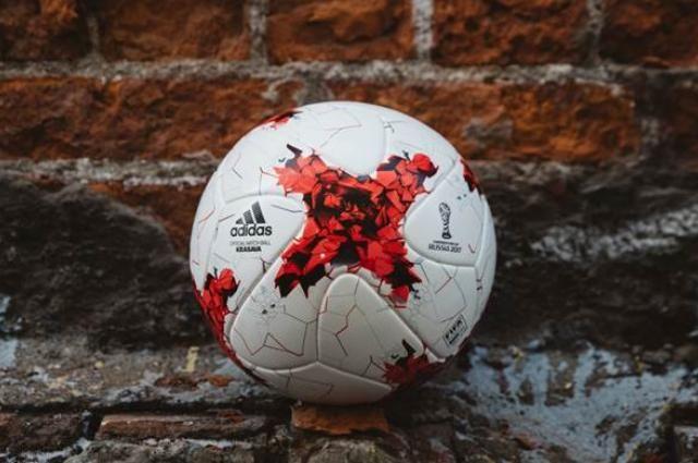 Мяч Красава - официальный мяч на играх Кубка Конфедераций.
