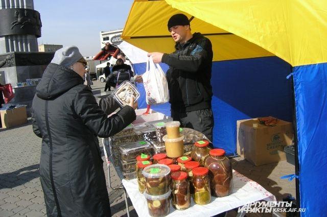 На продовольственных ярмарках планируются акции