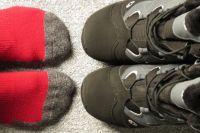 Парень решил оставить зимнюю обувь дома