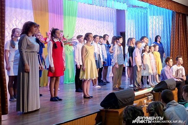 Праздничный концерт для мам.
