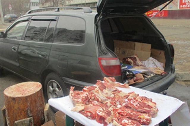 Больше всего нелегальной торговли мясом и рыбой выявили в Ленинском районе.