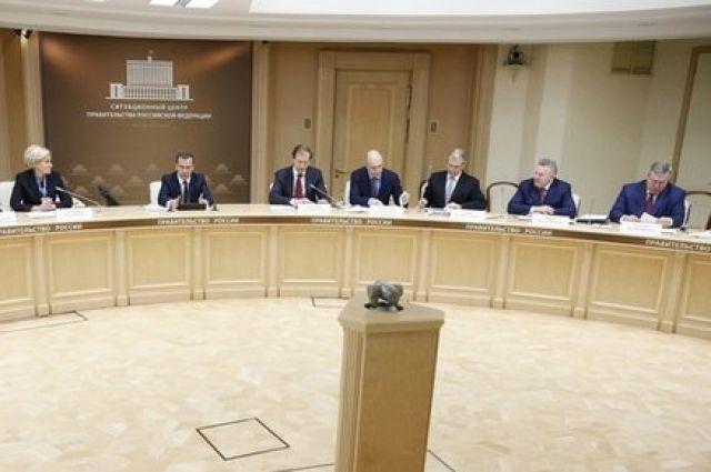 Голубев попросил уМедведева 300 млн на заработной платы шахтерам