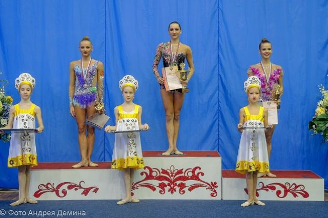Пензенская спортсменка Полина Хонина— победительница Кубка России похудожественной гимнастике