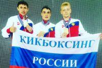 Алексей Трифонов - крайний слева.
